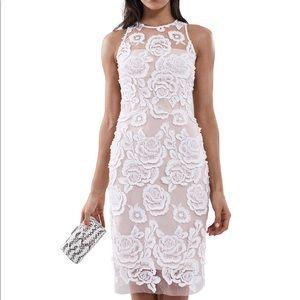 Reiss Meghan-Floral Lace Dress